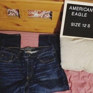 AE Vintage Hi Rise Jeans Size 12 S